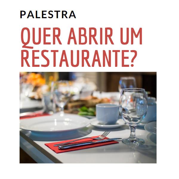 Curso - Quer abrir um restaurante?